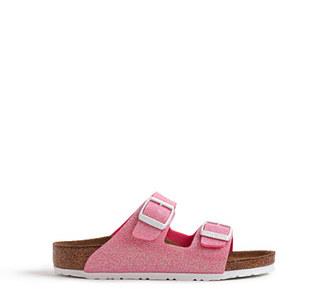 Girls' Birkenstock® Arizona glitter sandals $65 thestylecure.com