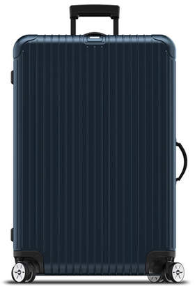 "Rimowa Salsa Electronic Tag Matte Blue 32"" Multiwheel Luggage"