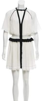 Isabel Marant Crew Neck Mini Dress w/ Tags