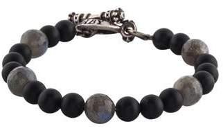 King Baby Studio Labradorite & Onyx Bead Bracelet