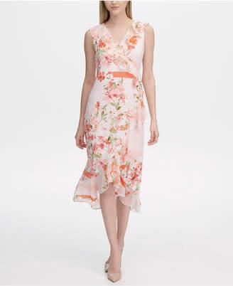 30e343a822b Calvin Klein Pink A Line Dresses - ShopStyle