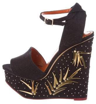 Charlotte Olympia Mischievous Platform Wedges