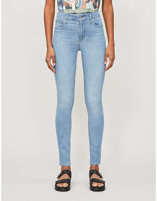 Levi's 721 faded skinny high-rise jeans