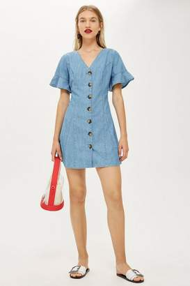 Topshop Lightweight Denim Dress