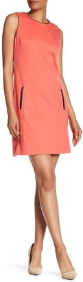 Vertigo Pocket Ponte Dress