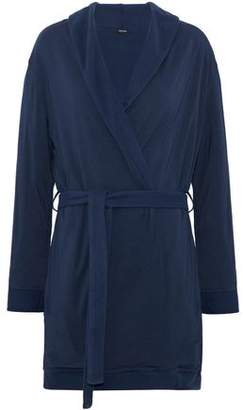 Heidi Klum Intimates Reversible Modal-Blend Fleece Robe