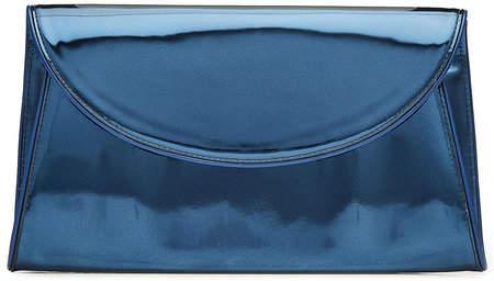 woven stripe clutch bag - Blue Diane Von F zTawVx