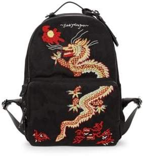 Beaded Dragon Backpack
