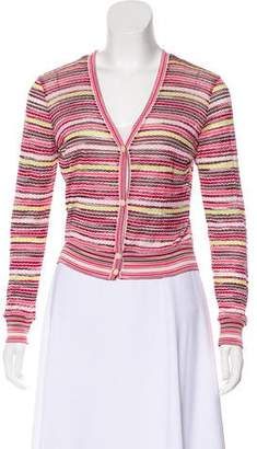 Missoni Long Sleeve Printed Cardigan