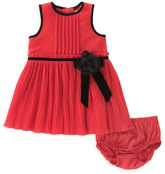 Kate Spade Girls' Pleated Chiffon Dress & Bloomers Set - Baby