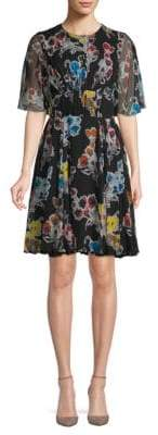 Jason Wu Chiffon Silk Day Dress