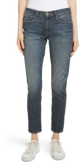 Le Garcon Crop Boyfriend Jeans