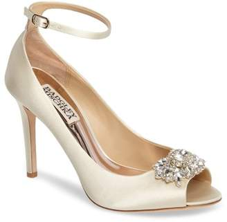 Badgley Mischka Kali Ankle Strap Pump