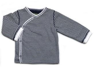 Kapital K Newborn Baby Boy Striped Kimono Cardigan