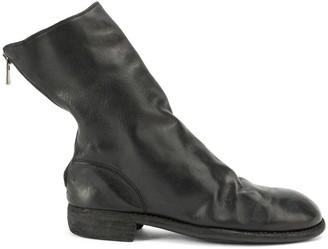 Guidi バックジップ ブーツ