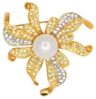 Kenneth Jay Lane Pearl Flower Pin