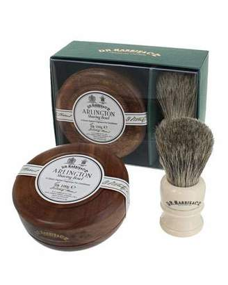 Co D. R. Harris & Arlington Mahogany Gift Set (Bowl + Brush)