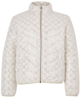 River Island Girls Cream Lightweight Padded Coat - Cream