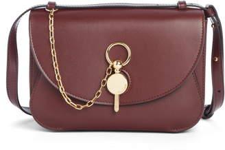 J.W.Anderson Lock Leather Convertible Shoulder Bag