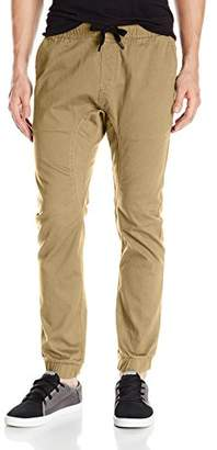 Southpole Men's Basic Stretch Twill Jogger Pants