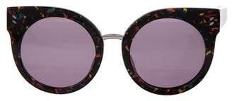 Stella McCartney Cat-Eye Round Sunglasses