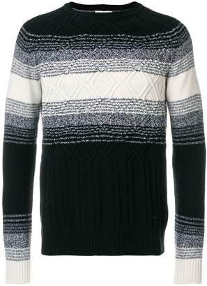 Paolo Pecora ombre chest detail sweater
