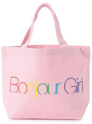 bonjour girl (ボンジュールガール) - ボンジュールガール 【Bonjour Girl】LOGO TOTE S