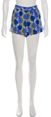 Equipment Silk Printed Shorts