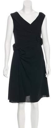 Valentino Virgin Wool Sheath Dress