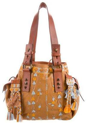 Ermanno Scervino Leather Shoulder Bag