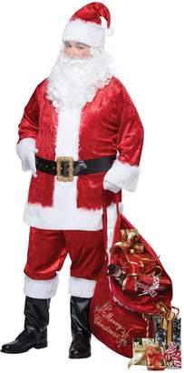 California Costumes Men's Plus-Size Classic Santa Suit Plus