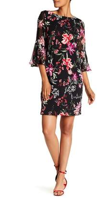 Sandra Darren 3/4 Sleeve Dress