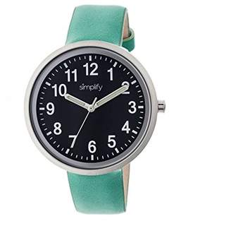Simplify Women's 'The 2600' Quartz Metal and Leather Watch