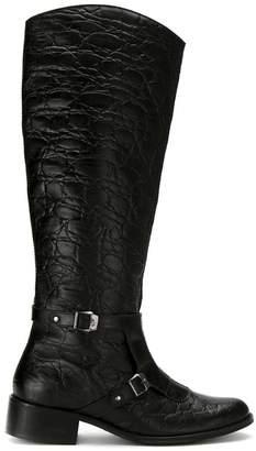 M·A·C Mara Mac textured leather boots