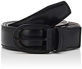 Salvatore Ferragamo Men's Leather Belt-Black