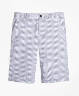 Brooks Brothers Boys Seersucker Shorts