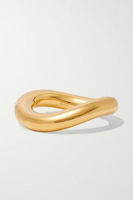 Balenciaga Loop Gold-tone Bangle