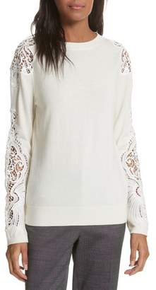 Ted Baker Lace Detail Sweater
