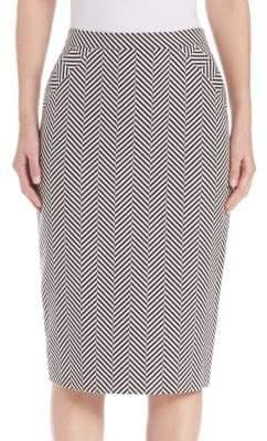 Escada Knee-Length Pencil Skirt