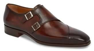Magnanni Hafiz Double Strap Monk Shoe