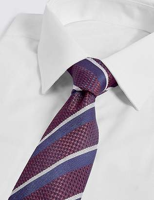 Marks and Spencer Pure Silk Striped Tie