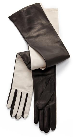 Diane von furstenberg Two Tone Gloves
