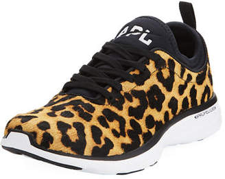 APL Athletic Propulsion Labs APL: Athletic Propulsion Labs Techloom Phantom Calf Hair Sneakers
