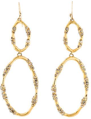 Alexis BittarAlexis Bittar Crystal Wavy Drop Earrings