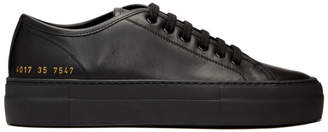 Common Projects Woman by Black Tournament Low Super Sneakers