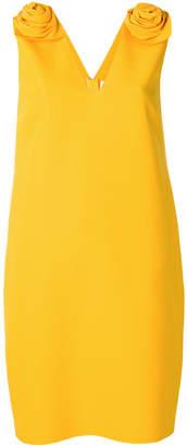 MSGM rosette-embellished dress