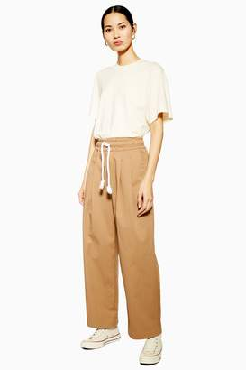 Topshop Womens **Carrot Joggers By Boutique - Khaki