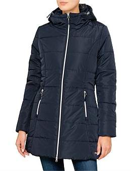 Palazzi Laney Quilted Long Line Jacket