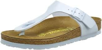 Birkenstock Women's Gizeh Cork Footbed Thong Sandal Baby Blue 35 M EU