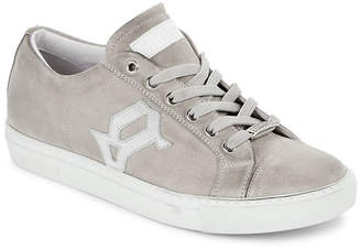 John Galliano Suede Leather Low Top Sneaker
